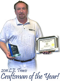 Craftsman of the Year for Professionalism in Painting and Wallpaper Services